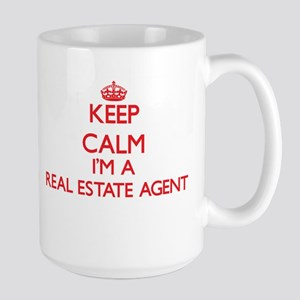 Keep calm I'm a Real Estate Agent Mugs