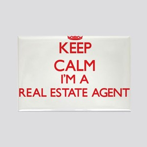 Keep calm I'm a Real Estate Agent Magnets
