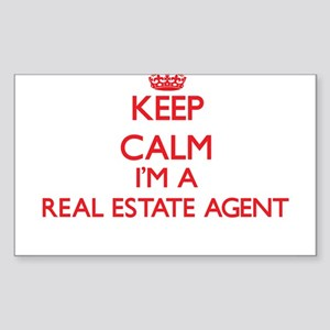 Keep calm I'm a Real Estate Agent Sticker