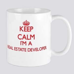 Keep calm I'm a Real Estate Developer Mugs