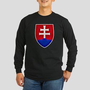 Slovakia Ice Hockey Emblem - S Long Sleeve T-Shirt