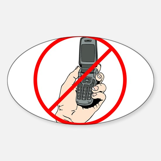 No Phones Decal