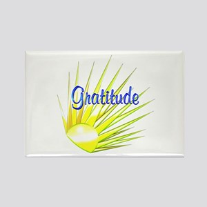 Gratitude Rectangle Magnet