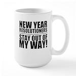 New Years Resolutions Mugs