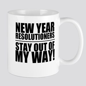 New Years Resolutions Mugs