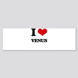 I love Venus Bumper Sticker