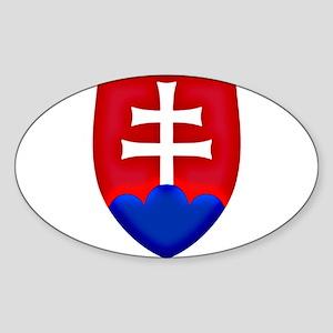 Slovakia Ice Hockey Emblem - Slovak Republ Sticker
