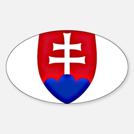 Slovakia Ice Hockey Emblem - Slovak Republ Decal