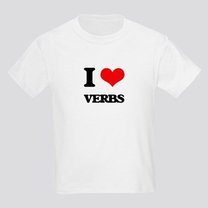 I love Verbs T-Shirt