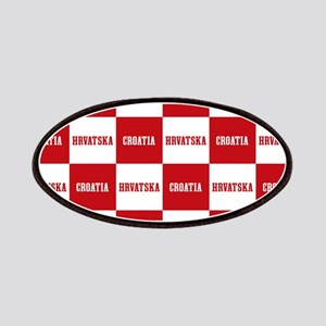 Croatia - Hrvatska Checkered Patches