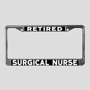 Surgical Nurse License Plate Frame