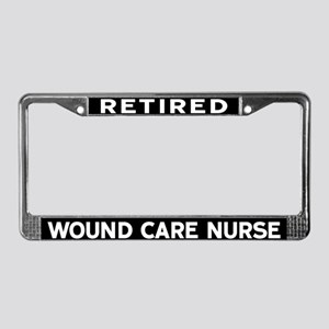 Wound Care Nurse License Plate Frame