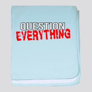 Question Everything baby blanket