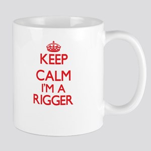 Keep calm I'm a Rigger Mugs