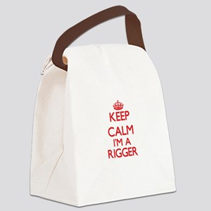 Keep calm I'm a Rigger Canvas Lunch Bag