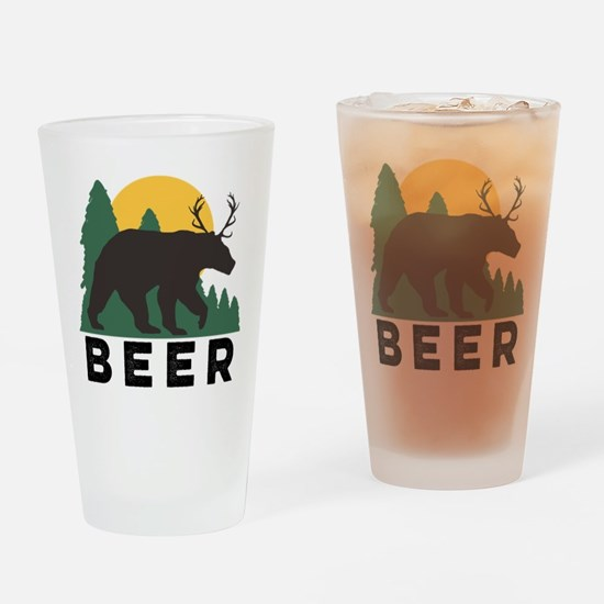 Funny Pint Glass Drinking Glass