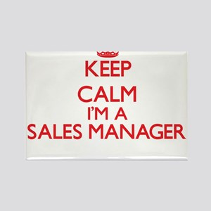 Keep calm I'm a Sales Manager Magnets