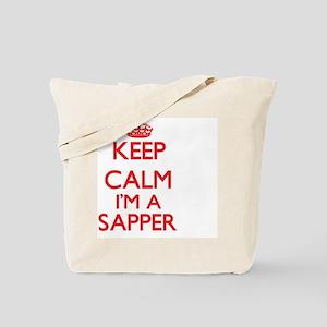 Keep calm I'm a Sapper Tote Bag