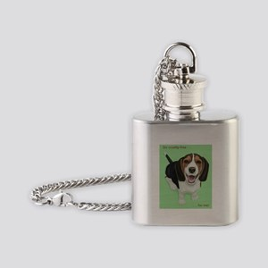 Go cruelty-free . . . for me Flask Necklace