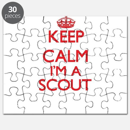 Keep calm I'm a Scout Puzzle