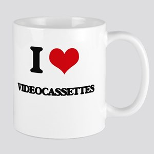 I love Videocassettes Mugs