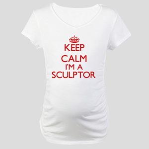 Keep calm I'm a Sculptor Maternity T-Shirt