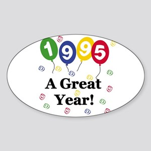 1995 A Great Year Oval Sticker