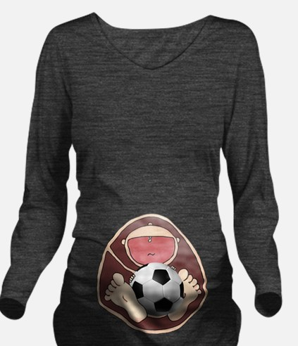 Baby In Belly Soccer.png T-Shirt