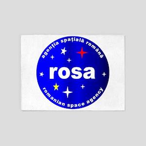 Romanian Space Agency 5'x7'area Rug