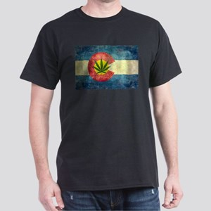 Colorado Weed Flag T-Shirt