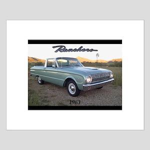 Small Poster 1963 Ford Ranchero