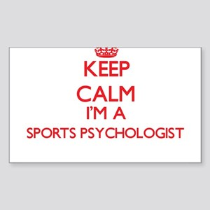 Keep calm I'm a Sports Psychologist Sticker