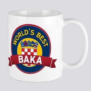 World's Best  Baka Mug
