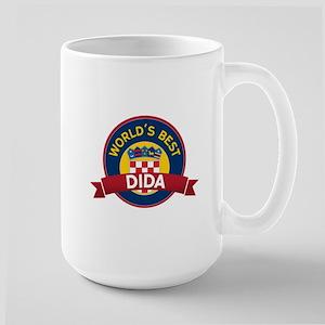 World's Best dida Large Mug