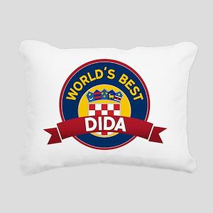 World's Best dida Rectangular Canvas Pillow