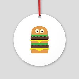 Hamburger_Base Ornament (Round)