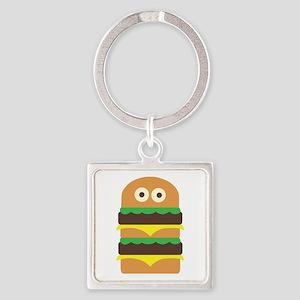 Hamburger_Base Keychains