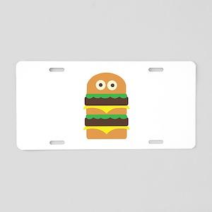 Hamburger_Base Aluminum License Plate