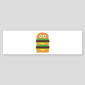 Hamburger_Base Bumper Sticker