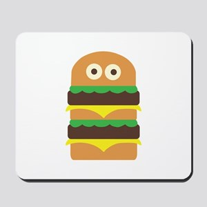 Hamburger_Base Mousepad