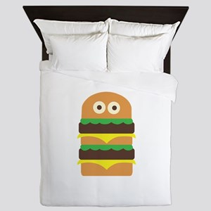 Hamburger_Base Queen Duvet