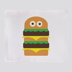 Hamburger_Base Throw Blanket