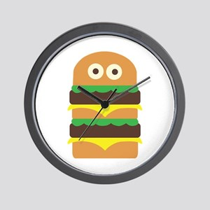 Hamburger_Base Wall Clock