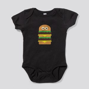 Hamburger_Base Baby Bodysuit