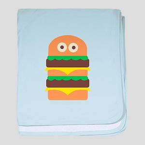 Hamburger_Base baby blanket