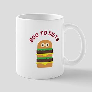 Hamburger_Boo To Diets Mugs