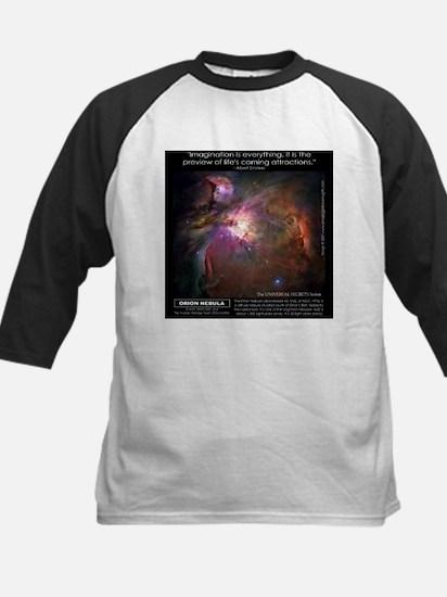 Orion Nebula Kids Baseball Jersey