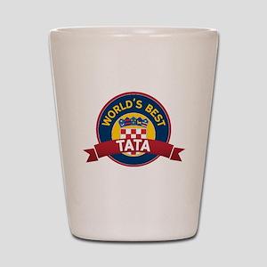 World's Best Tata Shot Glass