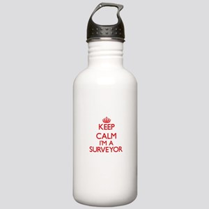 Keep calm I'm a Survey Stainless Water Bottle 1.0L