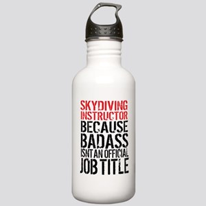 Skydiving Instructor B Stainless Water Bottle 1.0L
